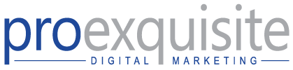 ProExquisite Marketing – Digital Marketing Specialist Sticky Logo Retina